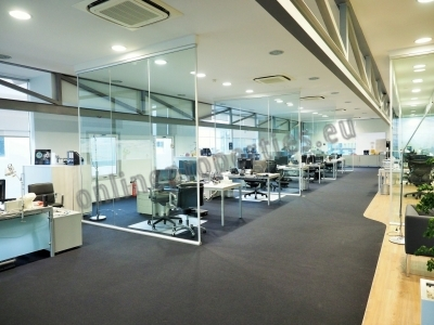 Modern and functional continues office space