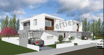 DETACHED MODERN MINIMAL HOUSE WITH 3 BEDROOMS