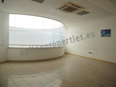 Modern office design all on one floor