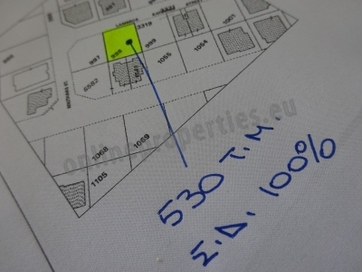 Residential plot of land just off 28th of October
