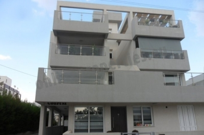 Modern three bedroom apartment with roof garden