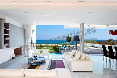 The most prized curve of beachfront villas