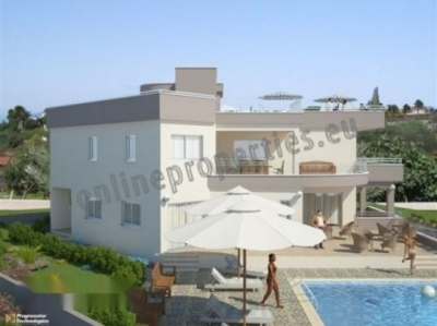 Luxurious 4Bedroom villa in Armenochori Limassol.