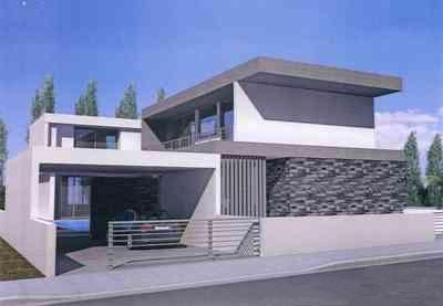 Modern Detached 4 Bedroom House in Archangelos