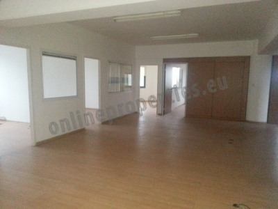 Large whole floor office near city center.
