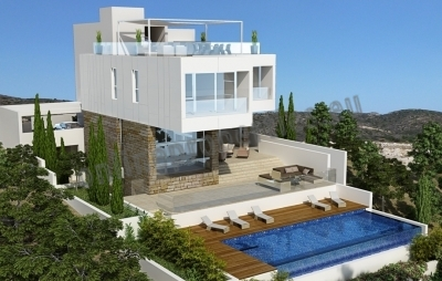 Beautiful luxury villa with seaviews in Limassol