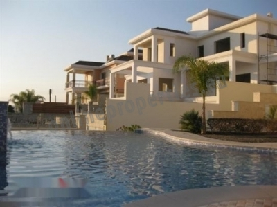 Luxurious house villa in tourist area of Limassol.