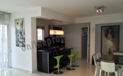 Luxury 2bed with large veranda at Archangelos