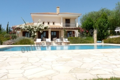 Resale 3 bedroom luxury villa at Aphrodite Hills